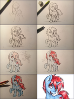 WIP Red Diamond by GaelleDragons