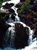 Waterfall by LavastormSW