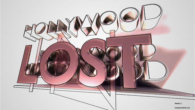Lost In Hollywood by cglucid