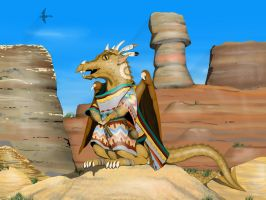 Southwestern Dragon by Rekalnus