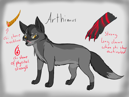 Arthimus Ref by CrispyCh0colate