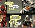Deadpool Taskmaster Desktop by MiserysLastWhim