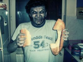 Zombie Bread Eaters by chinga