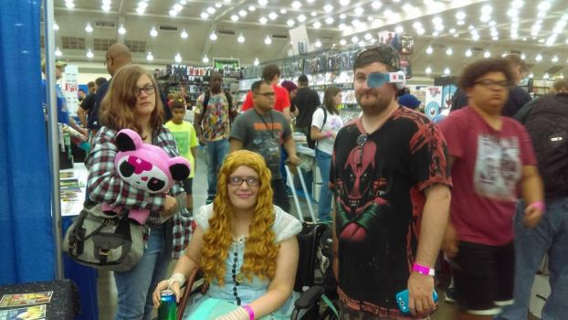 Baltimore Comic Con 2016 - me and my friends by j9y