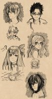 MS - Ballpoint pen doodles by Eeriah