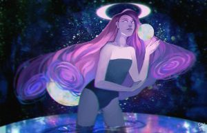 COSMIC MOTHER by chuwenjie