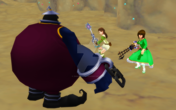 Defeat the Heartless! - KHUX. by Zadornov151
