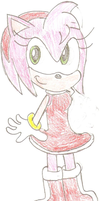 Amy Rose by Sonicdude645