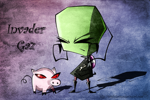 Invader Gaz by MissFuturama