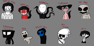 PastaMonster Drawings by RoboSquid