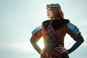 Witcher 3: Cerys an Craite by niamash