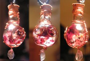Magic Vial - Hearts N Roses by Izile