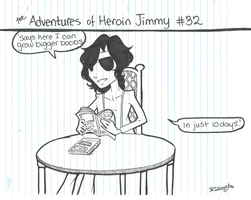 Adventures of Heroin Jimmy 32 by electricsorbet