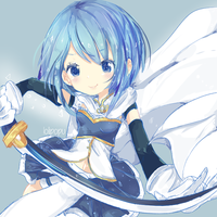 Sayaka Miki (300+ Watchers speed paint special) by Aearia