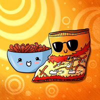 Cute Food- Hot Cheetos by PPGxRRB-FAN
