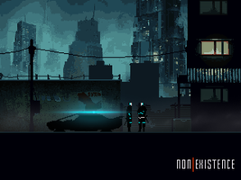 [non]Existence - police patrol by As-Pic