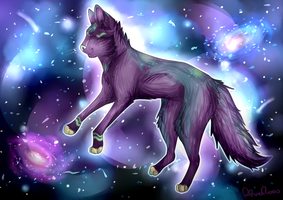 Commision for Deathroke - Galaxies by Afna2ooo