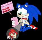 Sonic's Shock-inked-revised by spongefox