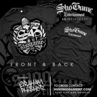 ShoGame Ent Black Shirt by GrahamPhisherDotCom