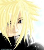 Cloud Strife : When it rains by merigon