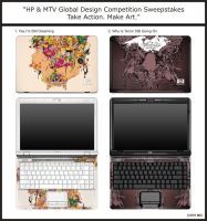 HP Custome Notebook Contest by mumolabs