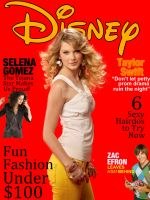 Walt Disney Magazine Cover by IslamxAhmed
