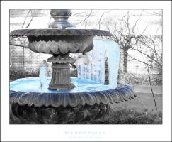 Blue Water Fountain by clelanjh