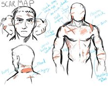 Master Chief Scar Guide by jameson9101322