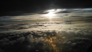 Over the Clouds by praveen3d