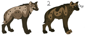 Point adopt- Hyena by Kaeda-adoptables