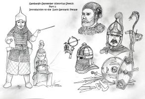 Introduction To The Early Germanic Warriors by Gambargin