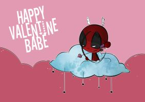 Happy Valentine Babe by dheny