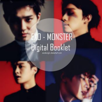 EXO - MONSTER Photopack Digital Booklet by EXOEDITIONS