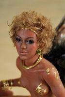 close up golden african by fairiesndreams