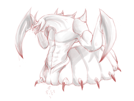 DIABLO II - Duriel sketch by ereptor