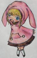 Bunny Poncho by Accyber