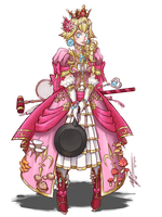 Princess Peach: War Cleric by CoronaDiTempesta