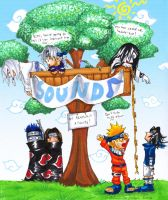 Kabuto N Crew: Tree House by Yakushi--Kabuto