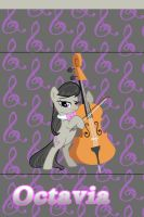 Octavia iPhone 4 Wallpaper by AceofPonies
