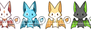 ChuChu Bats adopts I - closed by Mousu