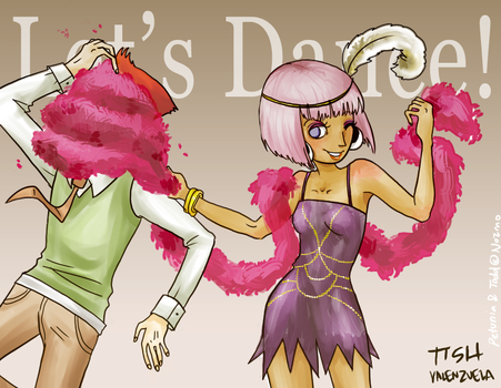 Let's Dance by paper-sting