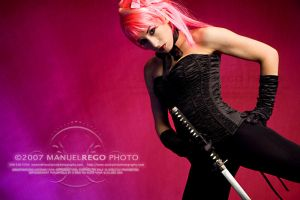 Pink Ninja by StuckpixelPhoto