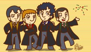 Hogwarts School of  Sherlock. by edbrawley