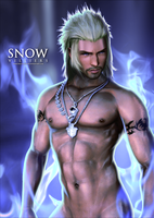Snow Villiers Render - Without Bandana by DaemonCollection