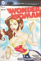 Wonder Woman Lasso 2014 sketchcover by amanojyaku