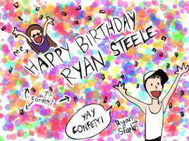 BIRTHDAY DOODLE FOR MAN OF STEELE by ShinkisRule