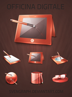 Officina Digitale v3 icons by Svengraph