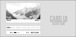 Card UI UCCW Skin. by kgill77