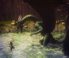 Encounter in the Swamp by Grovelight