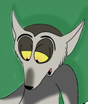 (Cropped art) Exhausted Julien by Julieness-Madness